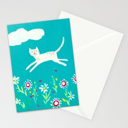 Spring Frolic Stationery Cards