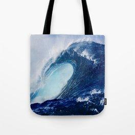 Big Blue Wave Tote Bag