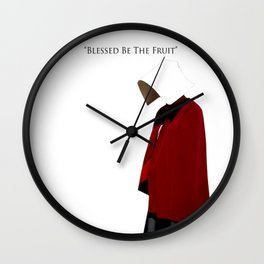 Blessed Be The Fruit Wall Clock