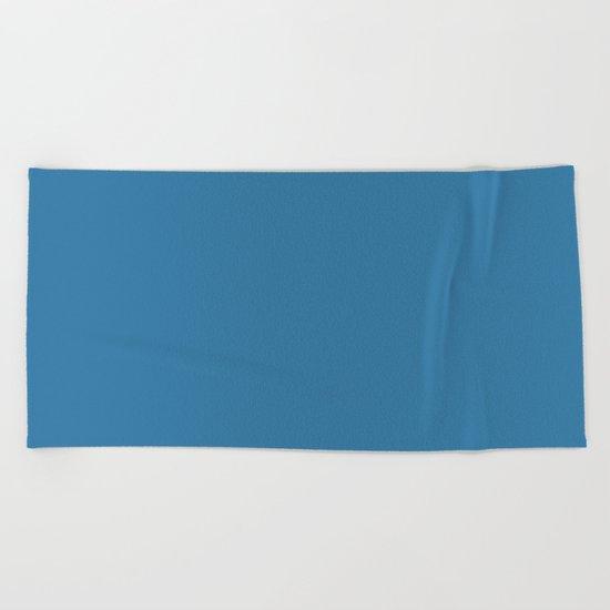 Saltwater Taffy Teal Beach Towel