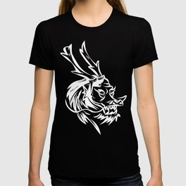 kunf fu dragon martial arts picture chenesse T-shirt