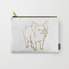 Fortune Pig Carry-All Pouch