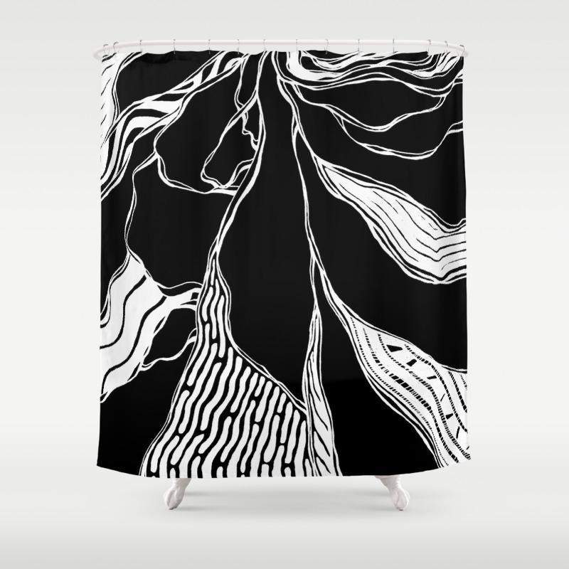Winding Roots Shower Curtain by Adamatilda CTN8998229