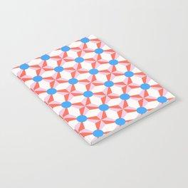 Vibrant Mod Pattern Notebook