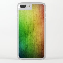 Colorful - Rainbow Clear iPhone Case