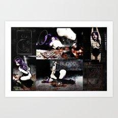 Dream of Chains Quadtych Art Print