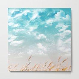 Cloudy side Metal Print