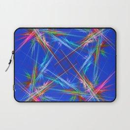 Fractal laser show Laptop Sleeve