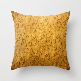 Vintage Texture 987 Throw Pillow