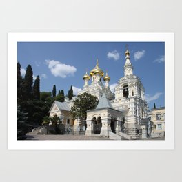 Alexander - Newski - Church - Yalta Art Print