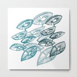 AbstractPlant Metal Print