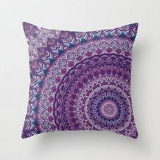 Mandala 555 Throw Pillow