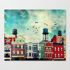 A Noble Avenue Canvas Print