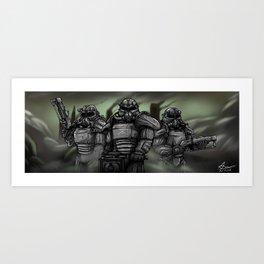 Fallout: Brotherhood Of Steel Art Print