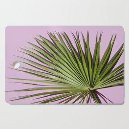 Palm on Lavender Cutting Board