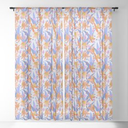 Daffodil Days Sheer Curtain