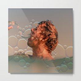 Bubble party Metal Print