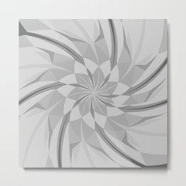white spinner Metal Print