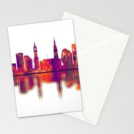 Leicester England Skyline Stationery Cards