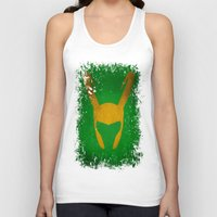 loki Tank Tops featuring Loki by Some_Designs