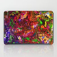 tim shumate iPad Cases featuring Substances by Tim Henderson by WhatisArt