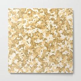 Glamorous  desert  camouflage pattern Metal Print