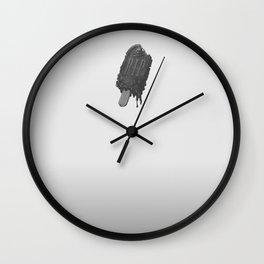 Dead Ice Wall Clock