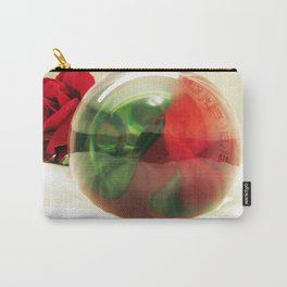 Red Roses Floral Visual Effect Art Photography Carry-All Pouch