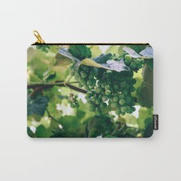 Wine Grapes Hidden In The Vines Carry-All Pouch