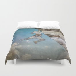 Climb On II Duvet Cover