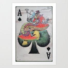 """""""Peel-yocapper"""" Art Print"""