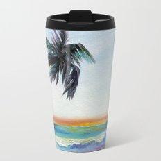 Be Back At Sunset Travel Mug