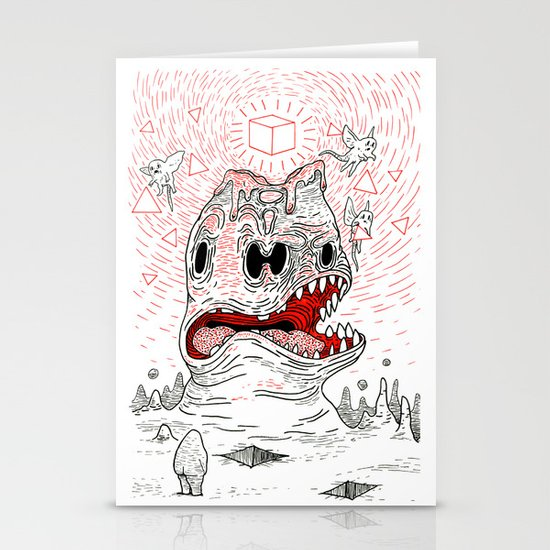 Triangles Are Tasty Stationery Cards
