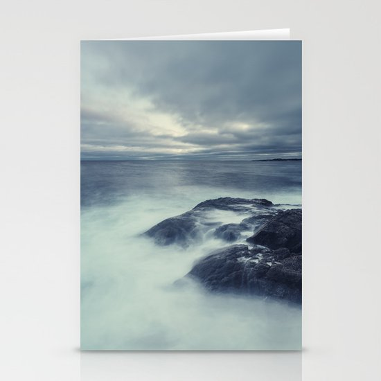 Washed in Atlantic Stationery Cards