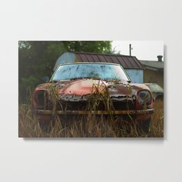 Datsun's Sunset Metal Print