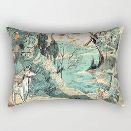 Last Unicorn Journey Rectangular Pillow