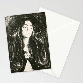 Edvard Munch - The Brooch, Eva Mudocci, 1903 Stationery Cards
