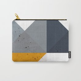 Modern Geometric 19/2 Carry-All Pouch