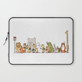 At The Bus Stop Laptop Sleeve