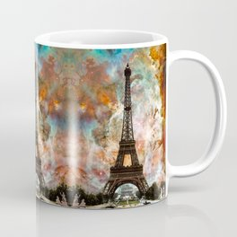 The Eiffel Tower - Paris France Art By Sharon Cummings Coffee Mug