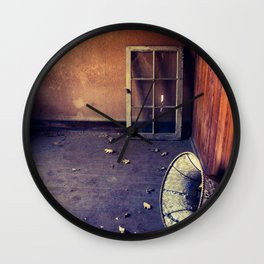 Lonely Glow Wall Clock