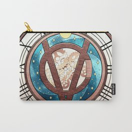 Tick Tock says the Victubia Clock Carry-All Pouch