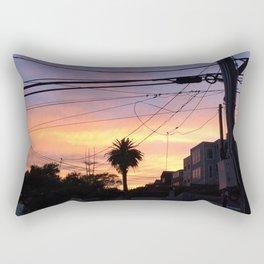 Sunset Lines Rectangular Pillow