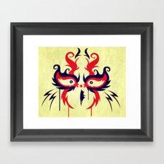 The Hawk In My Head Framed Art Print
