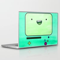 bmo Laptop & iPad Skins featuring BMO by Some_Designs