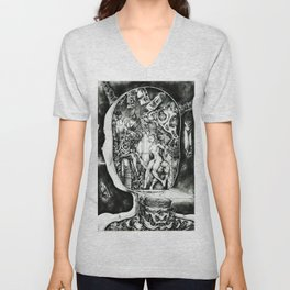 Concentric Sub-Levels Of Reality Unisex V-Neck