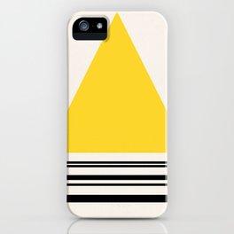 Code Yellow 002 iPhone Case