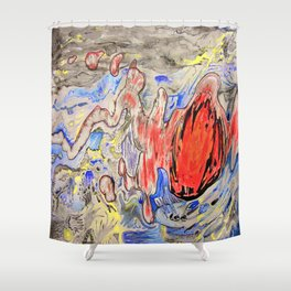Apoplexy Shower Curtain