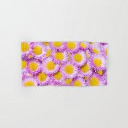 Yellow Centres Hand & Bath Towel