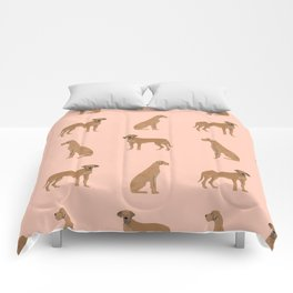 Great Dane dog gifts must have pure breed great danes dog pattern Comforters